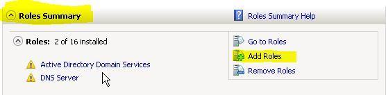 Instalação do servidor Web MS-IIS no Windows Server 2008